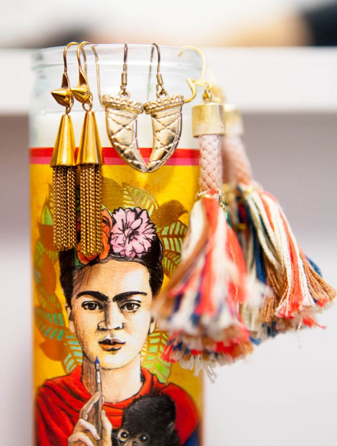 the neon nine: frida kahlo paraphernalia