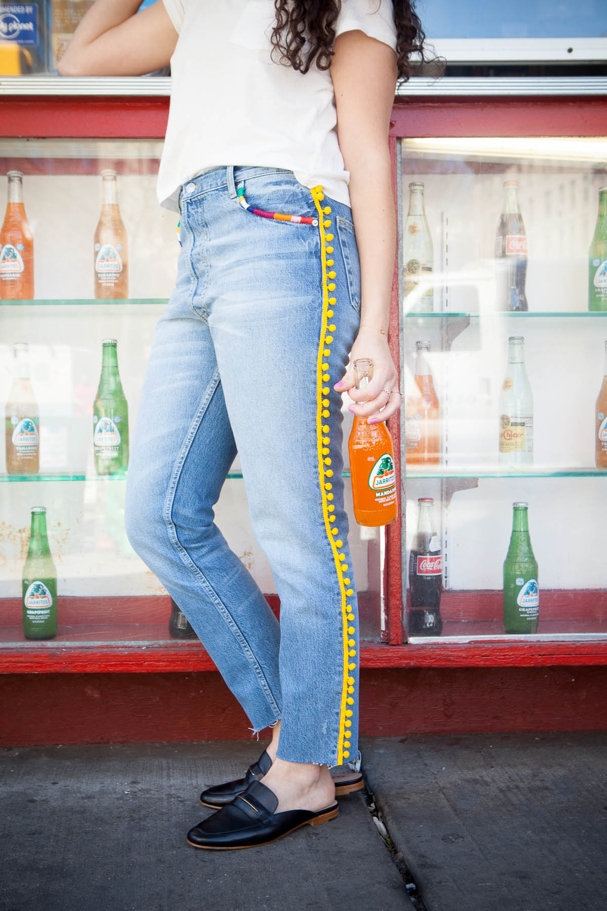 DIY with Cotton: Fiesta Jeans