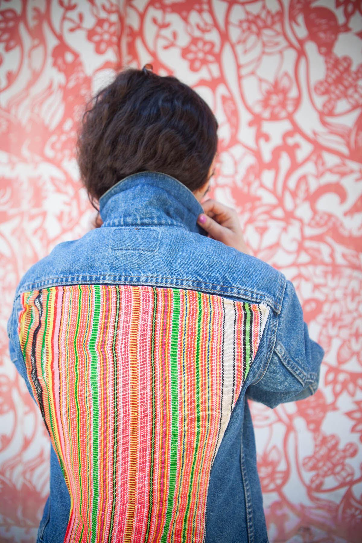 DIY with Cotton: Textile Jean Jacket