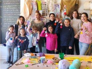 Adults & Kids Pom Pom Workshop at Oh! Canary