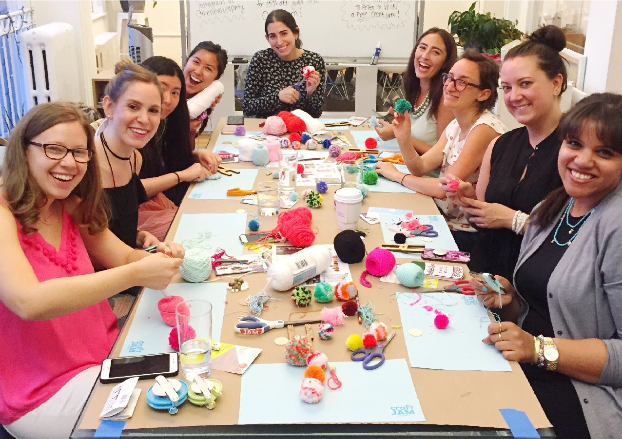 Crafting Workshop with The Neon Tea Party