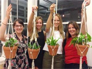 Macrame Plant Hanger at CraftJam