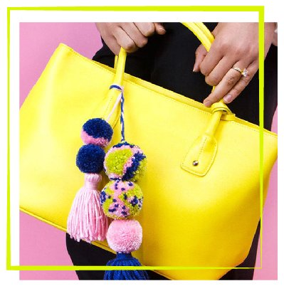 Pom pom and tassel accessories workshop-100
