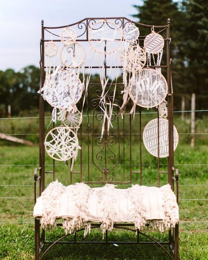 lace wedding dreamcatchers