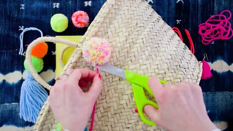 how to make pom poms course