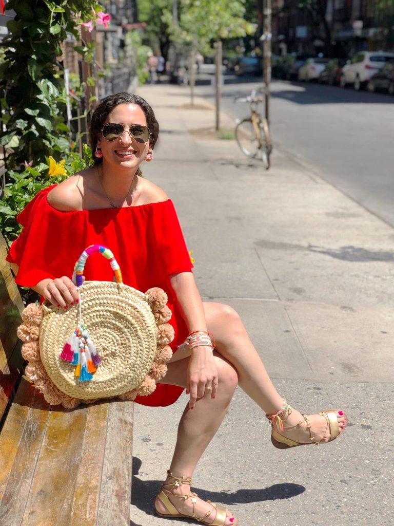womanshopsworld raffia straw bag diy