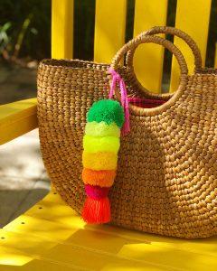 Mexican Pom Pom Charm-The Neon Tea Party Artelexia