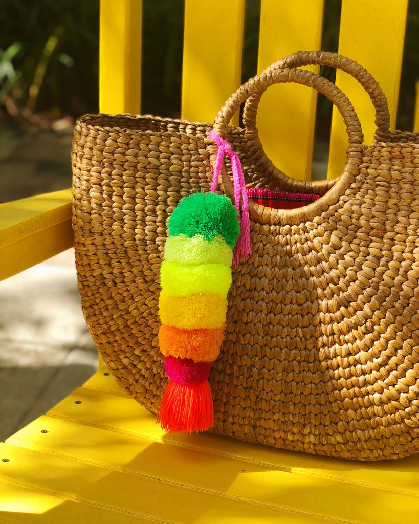 Mexican Pom Pom Charm-The Neon Tea Party Artelexia