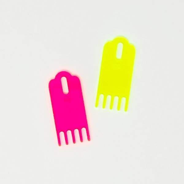 The Neon Tea Party Loome Tassel Comb