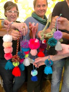 Pom Pom Tassel Bag Charms