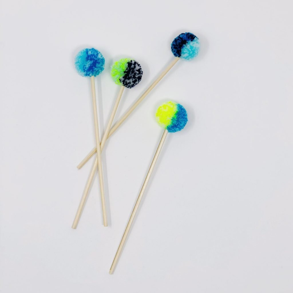 Pom Pom Hanukkah Decorations The Neon Tea Party