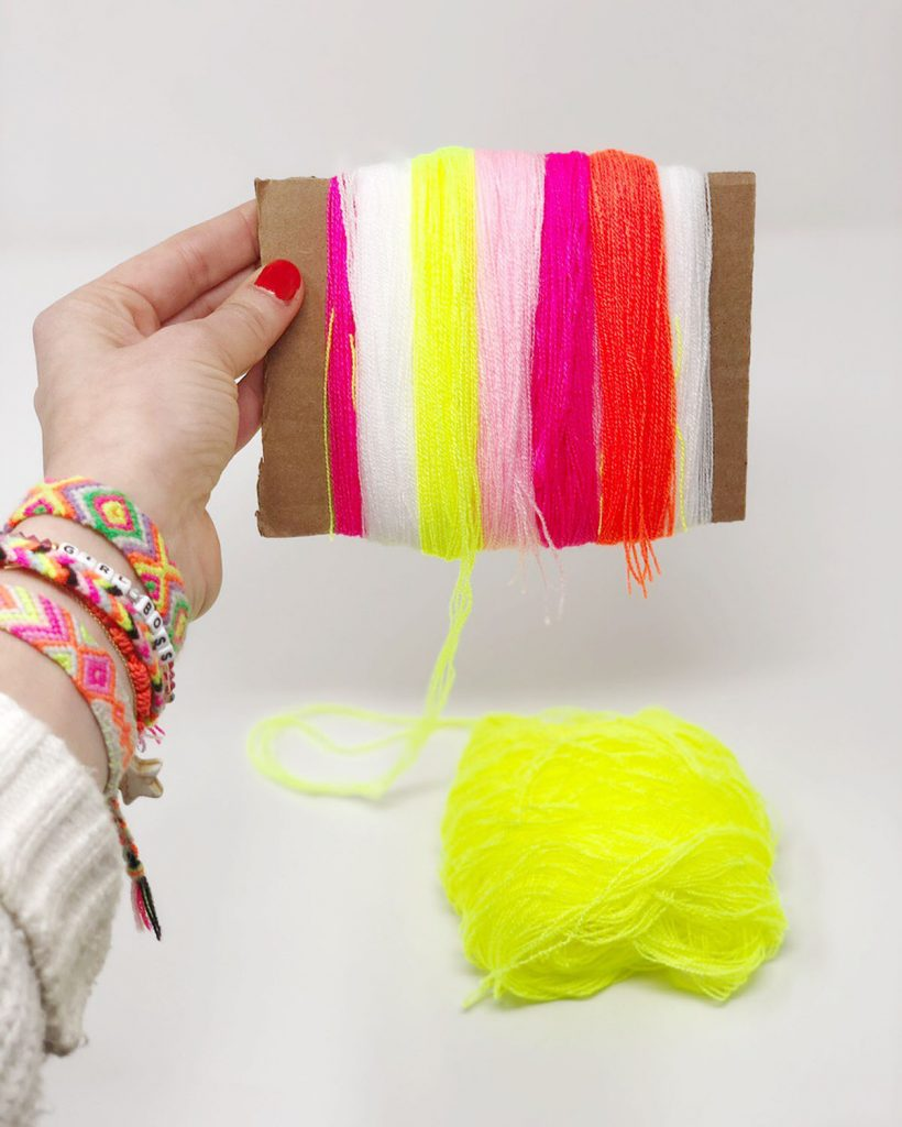 DIY Pom Pom Beanie The Neon Tea Party