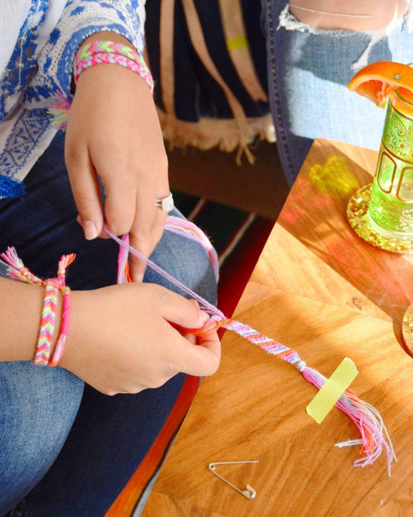 The Neon Tea Party Friendship Bracelet DIY Kit Spotlight 03