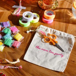 The Neon Tea Party Friendship Bracelet DIY Kit Spotlight 04