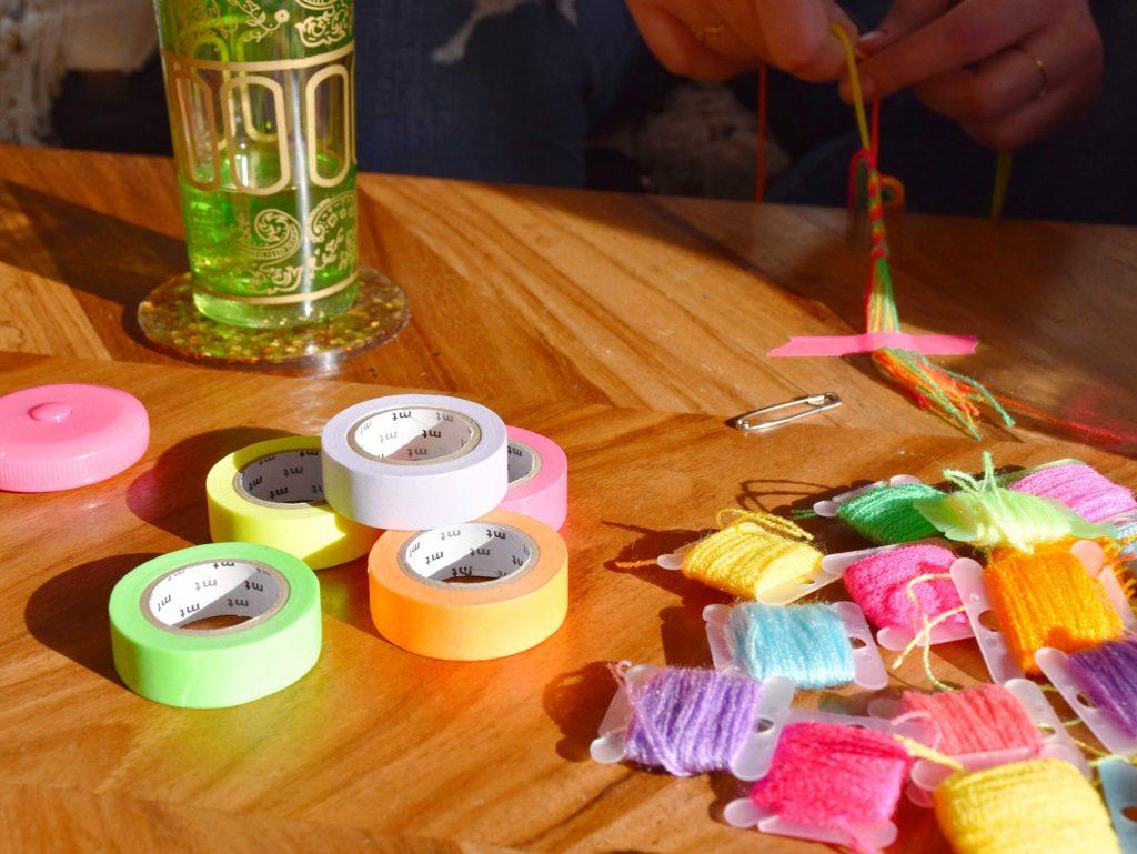 The Neon Tea Party Friendship Bracelet DIY Kit Spotlight 08