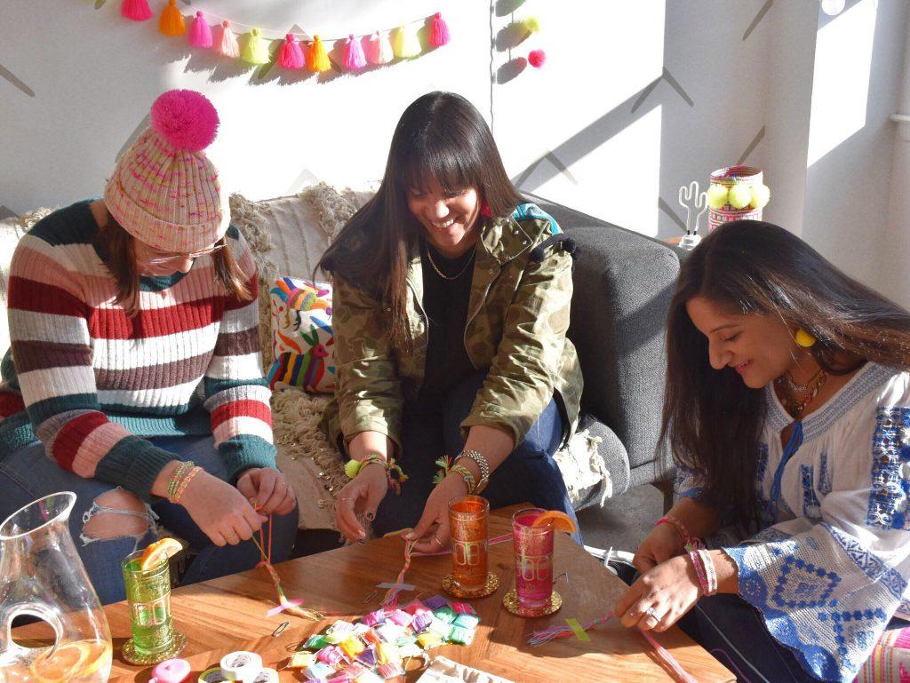 The Neon Tea Party Friendship Bracelet DIY Kit Spotlight 09