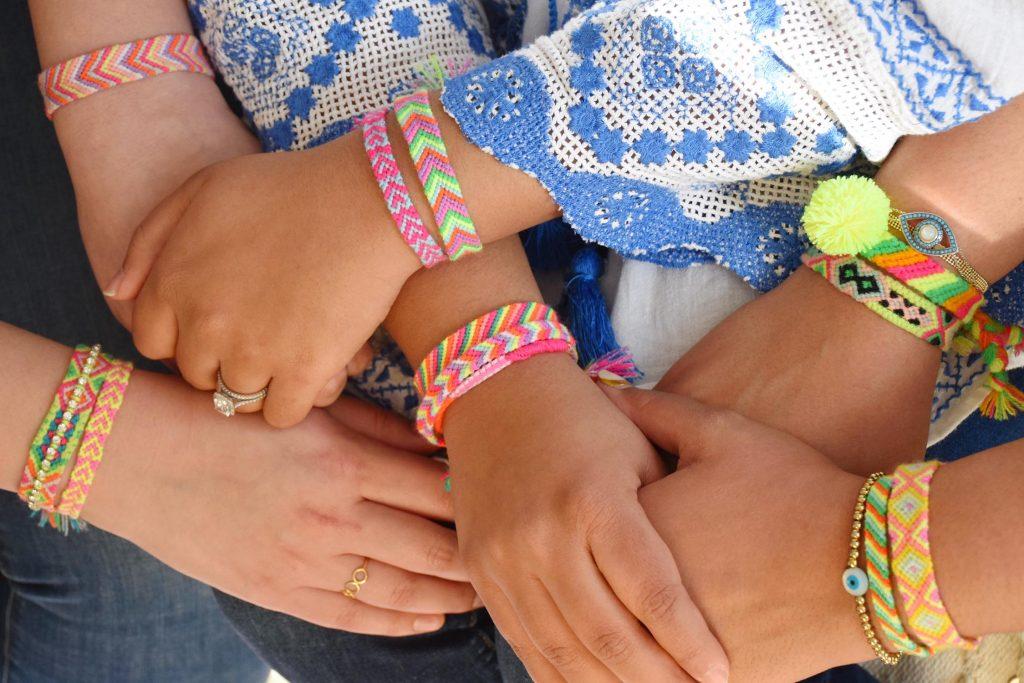 The Neon Tea Party Friendship Bracelet DIY Kit Spotlight 10
