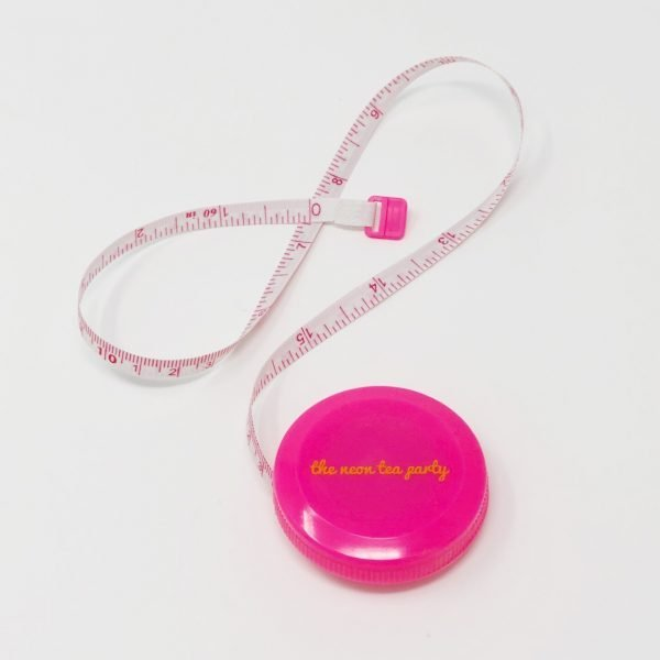 The Neon Tea Party Tape Measure