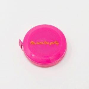 The Neon Tea Party Tape Measure