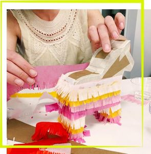 The Neon Tea Party Piñata Workshops