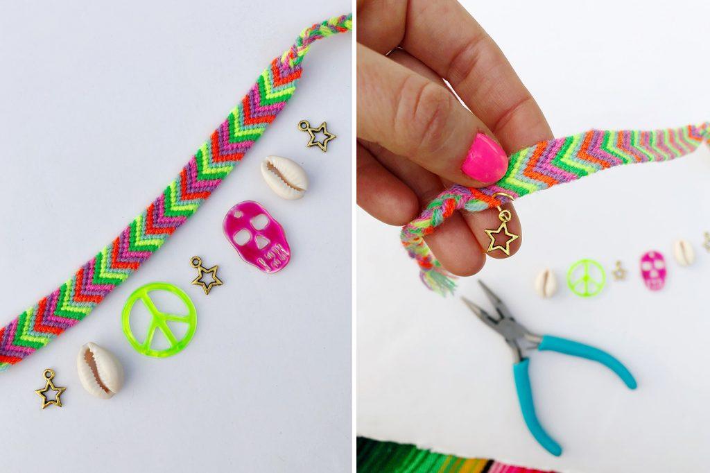 5 Easy Ways To Embellish Friendship Bracelets The Neon Tea