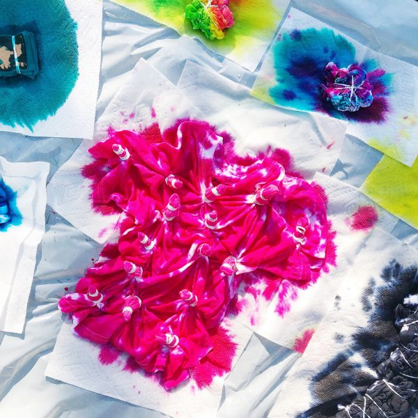Tie Dye Workshop The Neon Tea Party
