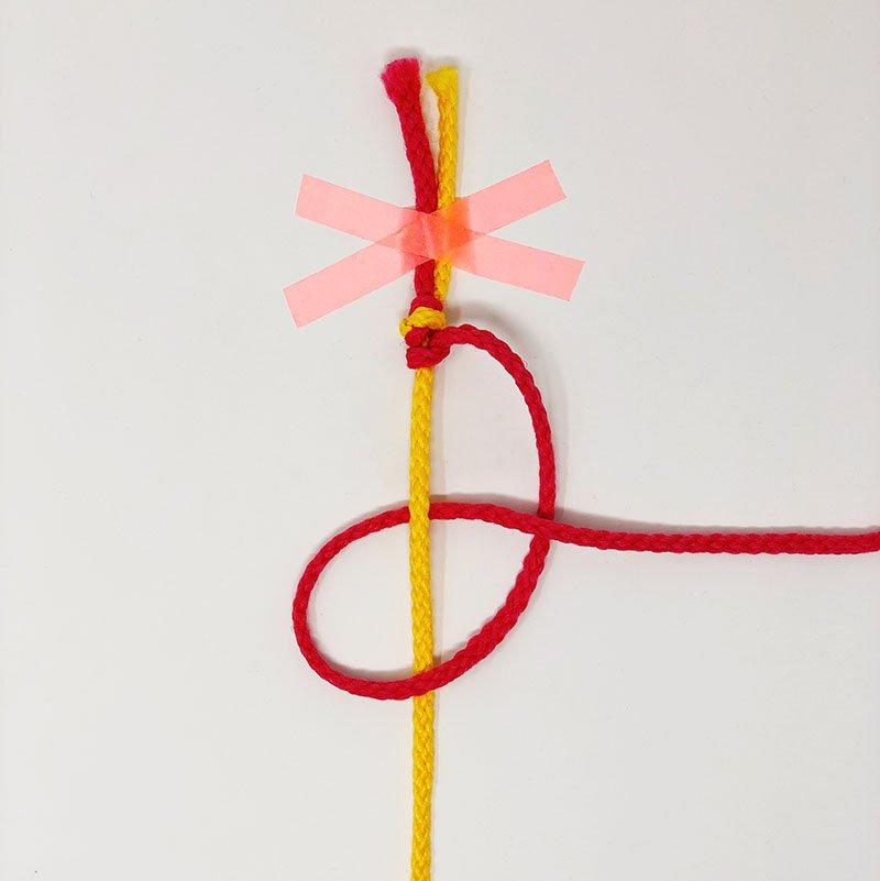 Friendship Bracelet Knot Guide