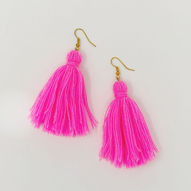 How to Tassel Earrings