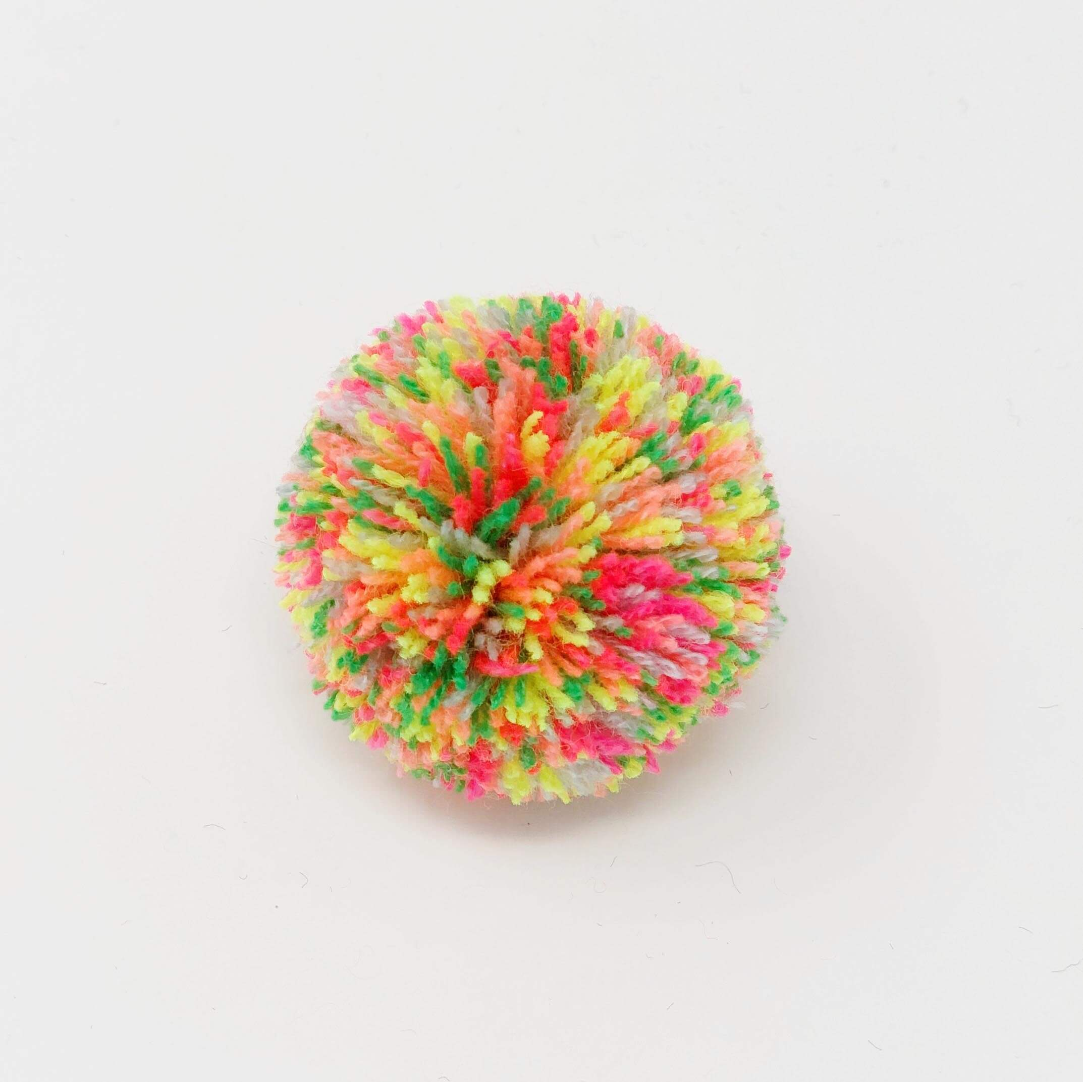 How to Make a Sprinkled Pom Pom