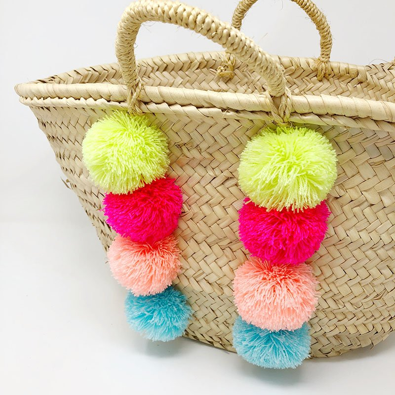 How to Attach Pom Poms