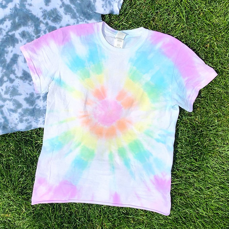How to Tie Dye Bullseye Pattern