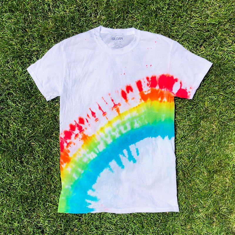 How to Tie Dye Rainbow Arch