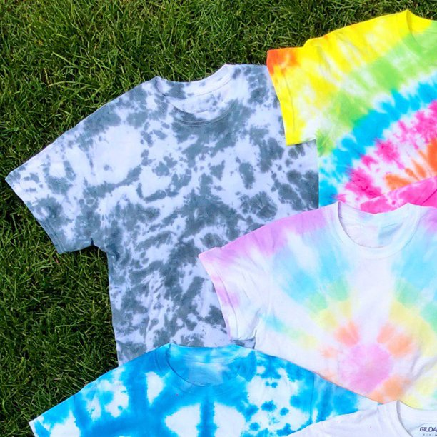 How to Tie Dye Scrunch Pattern