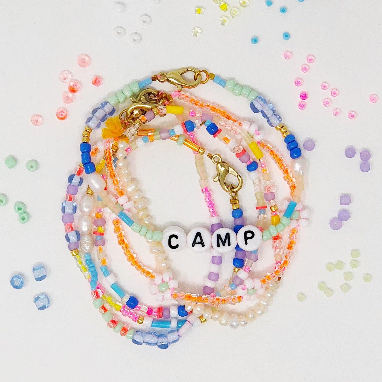 Seed Bead Beaded Bracelets - Camp