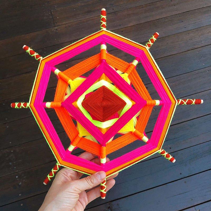 God's Eye Mandala - 800px