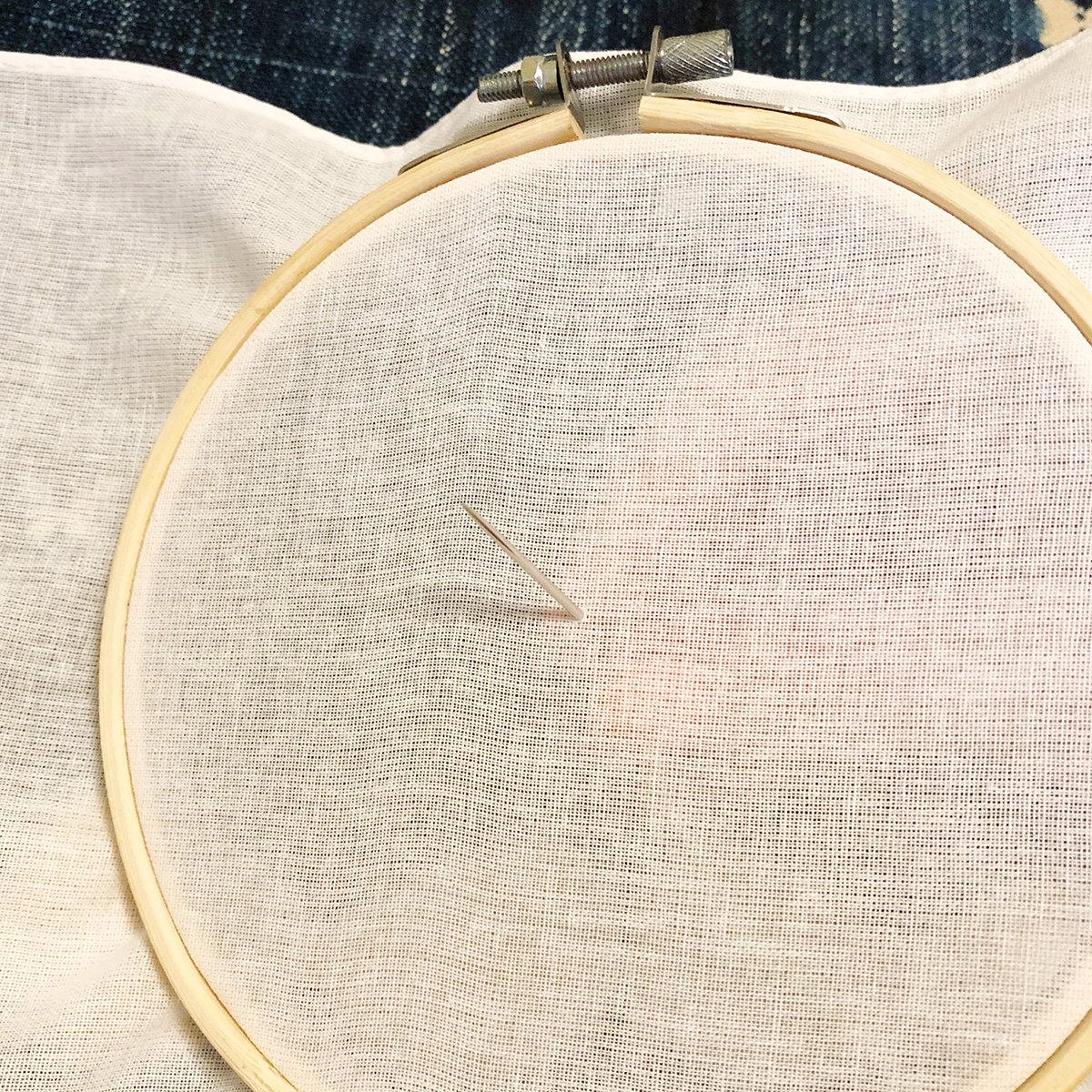 Embroidery - French Knot - 01