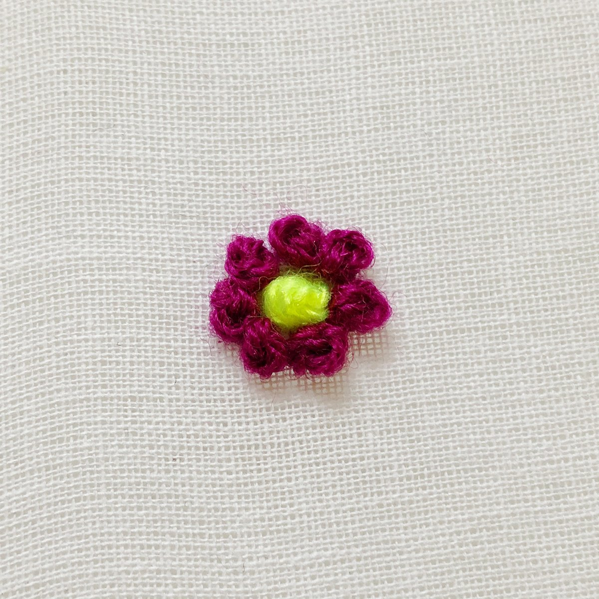Embroidery - French Knot - 08