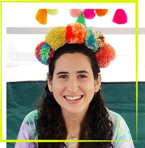 3_7 - Tie Dye Pom Pom Crown Workshop