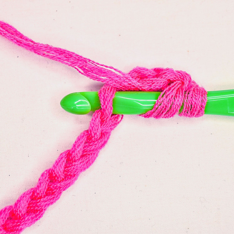 How to Double Crochet - 3