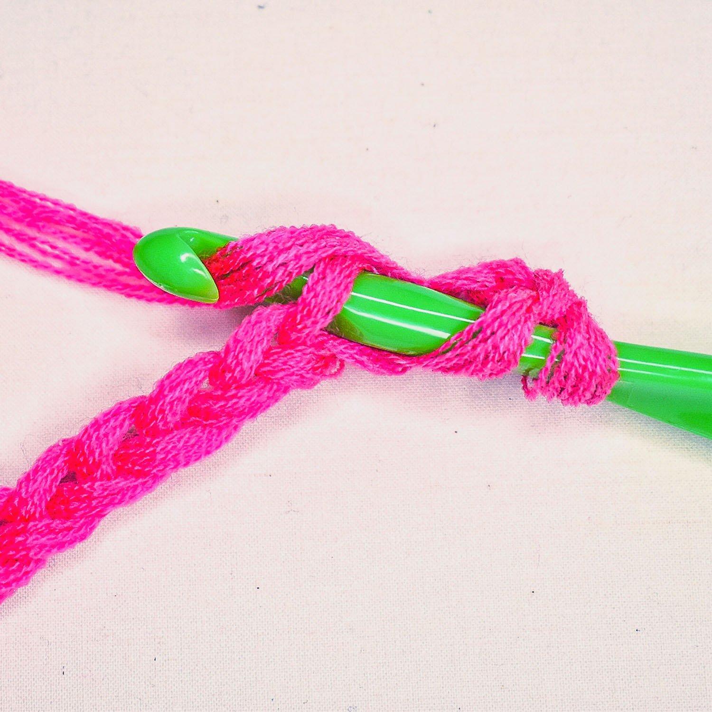 How to Double Crochet - 4