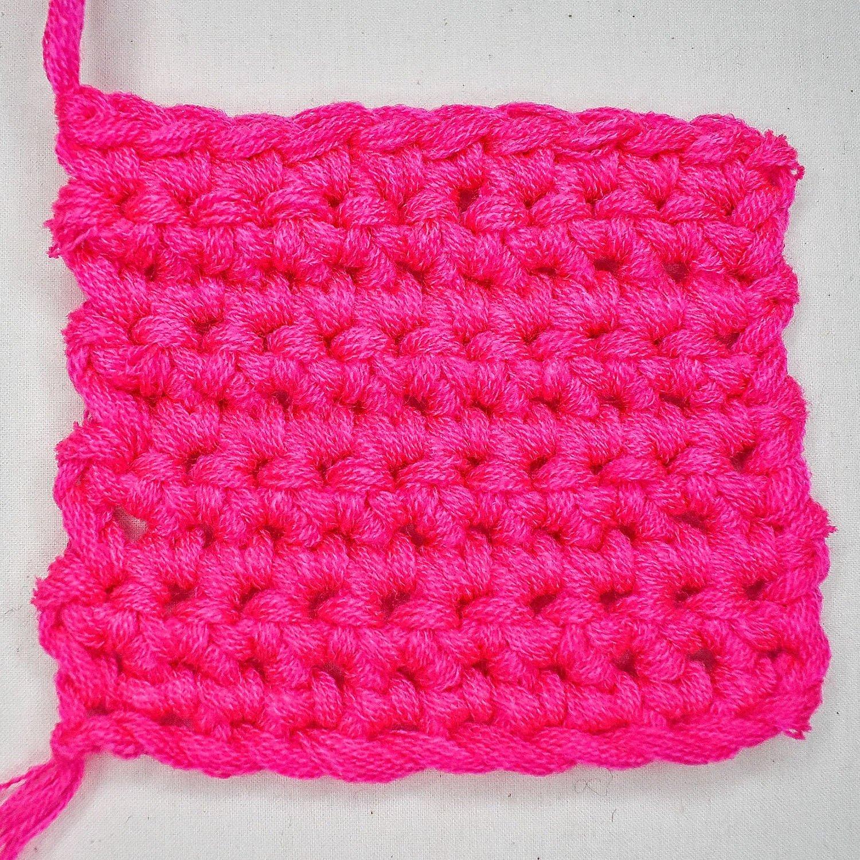 How to Single Crochet - 10