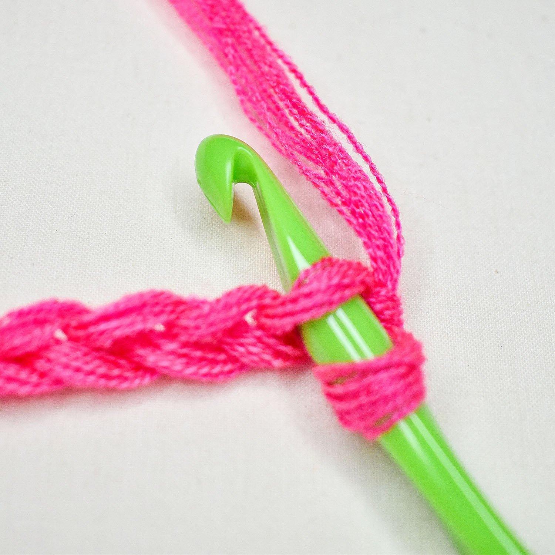 How to Slip Stitch - 2