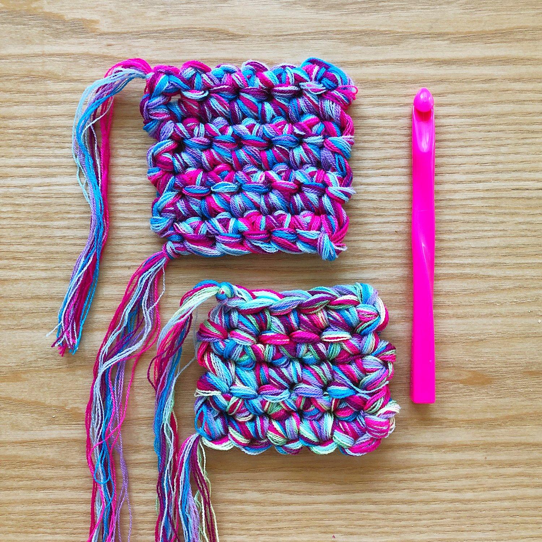Crochet - Blending Omegacryl - 11.5mm Hook