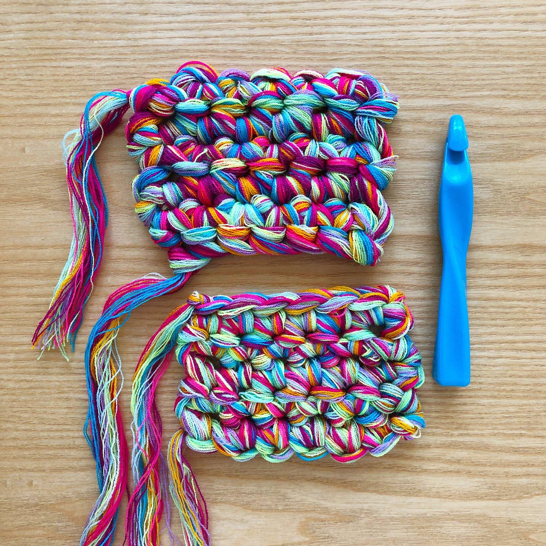 Crochet - Blending Omegacryl - 20mm Hook
