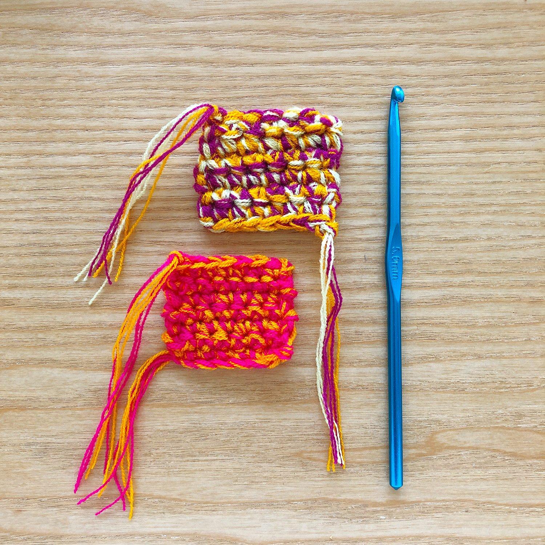 Crochet - Blending Omegacryl - 5mm Hook