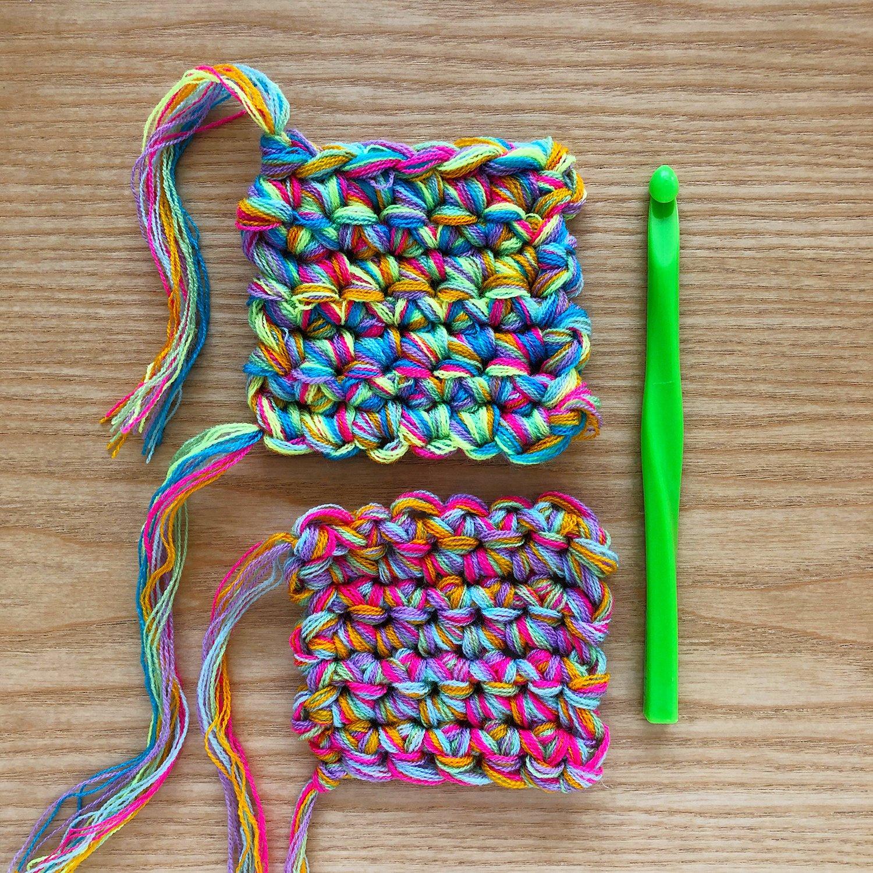 Crochet - Blending Omegacryl - 9mm Hook