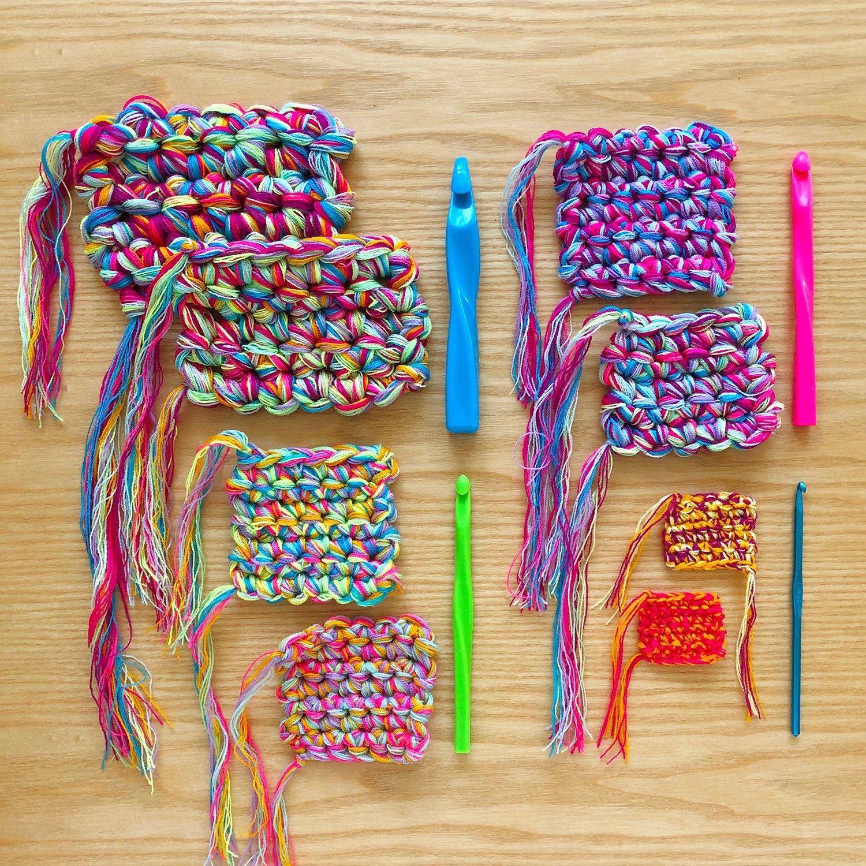 Crochet - Blending Omegacryl