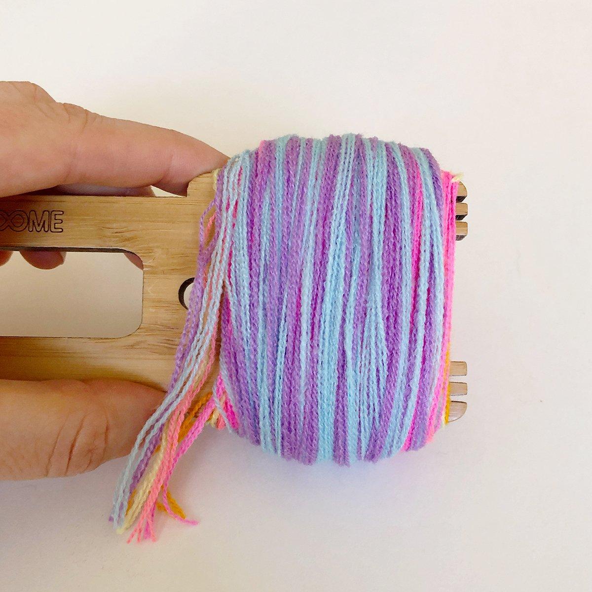 How to Make Tie Dye Pom Poms - The Neon Tea Party