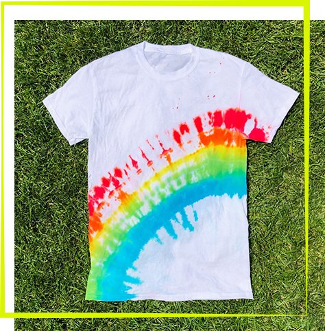 The Neon Tea Party Workshop - Rainbow Arch Tie Dye (1)