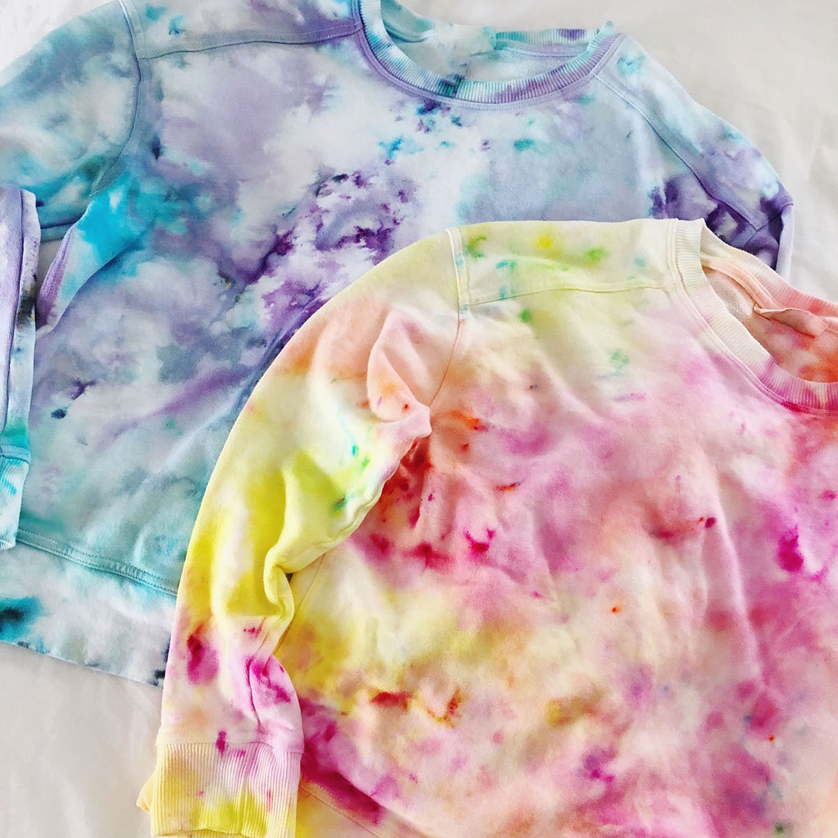 Ice Dye - The Neon Tea Party - square
